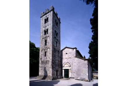 Pieve di Brancoli (Lucca), chiesa di S. Giorgio.