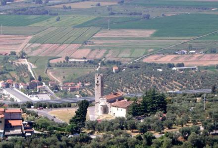 Pieve a Elici (Lucca), chiesa di S. Pantaleone.